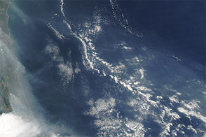 Smoke over the Atlantic Ocean : Natural Hazards