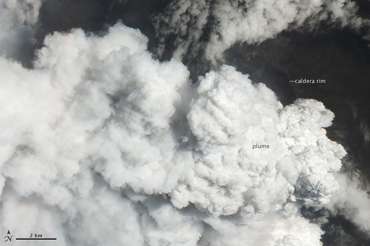 Eruption at Nabro Volcano