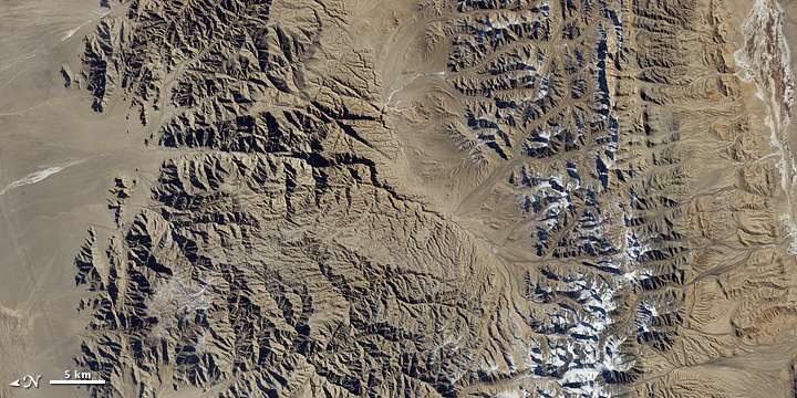 Qinghai Cross Section