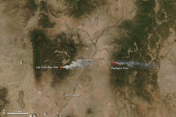 Las Conchas Fire New Mexico
