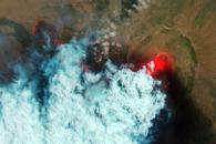 Detailed Views of Erupting Nabro Volcano