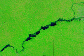 Flooding Continues along the Missouri River