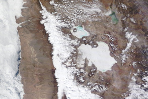 Rare Snow in Atacama Desert, Chile - selected image