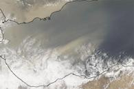 Dust over the Red Sea and Gulf of Aden
