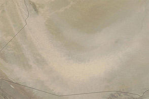 Dust over Afghanistan