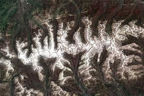 July Snow in the Uinta Mountains, Utah