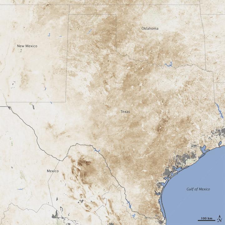Texas Drought Disaster