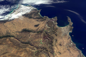 Where on Earth? MISR Mystery Image - selected image