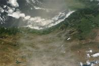 Dust over Turkey and the Black Sea