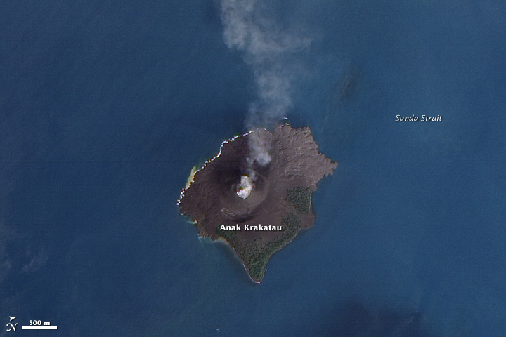Volcanic Acitivity at Krakatau