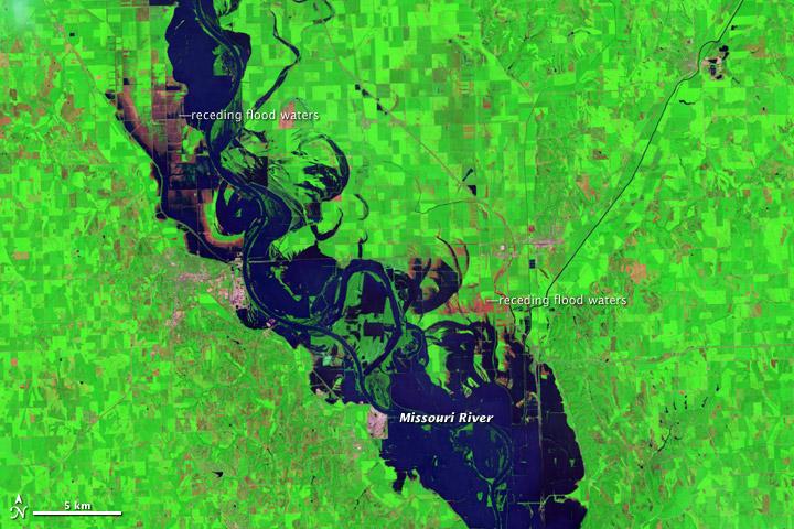 Lingering Floods in Eastern Nebraska