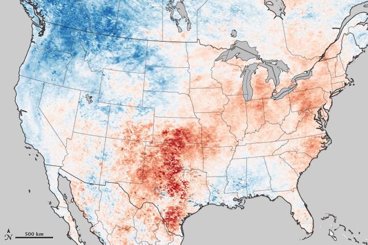 Heat Wave Across the United States