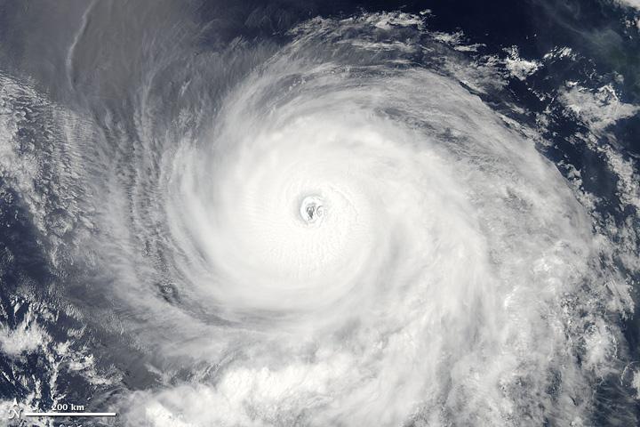 Hurricane Eugene