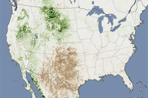 Drought across the United States - selected image