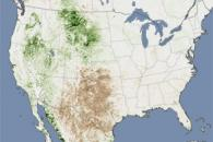 Drought across the United States