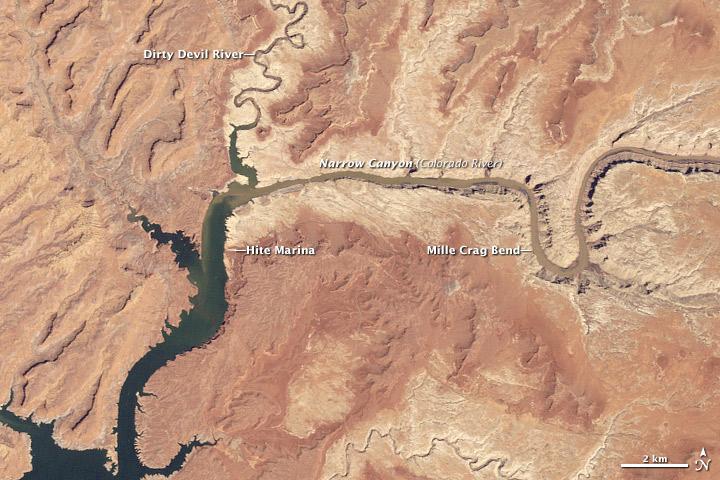 Runoff Raises Lake Powell