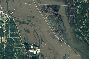 Flooding in the Missouri Basin