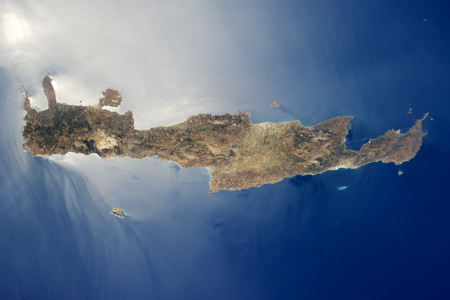 Crete Island Greece  City pictures : GeoGarage: Image of the week : Island of Crete, Greece
