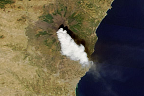 Paroxysm at Mount Etna