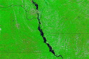 Flooding in the Missouri Basin