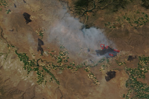 Fires in Western Idaho