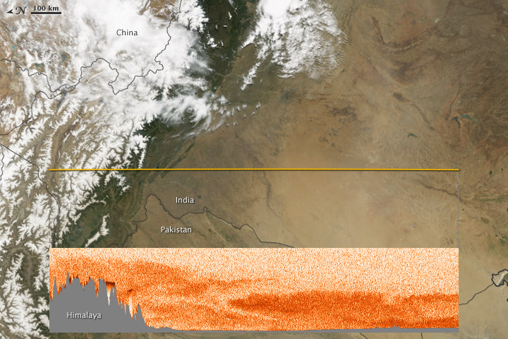 Dust and Pollution Rise Before the Monsoon - related image preview