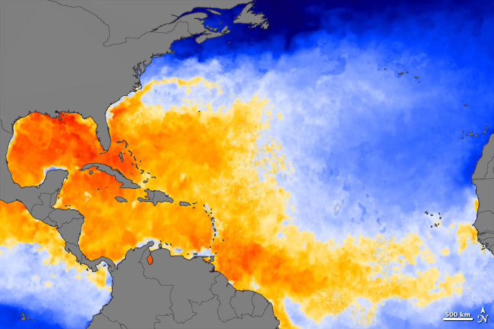 Atlantic Heat Source for Hurricane Irene