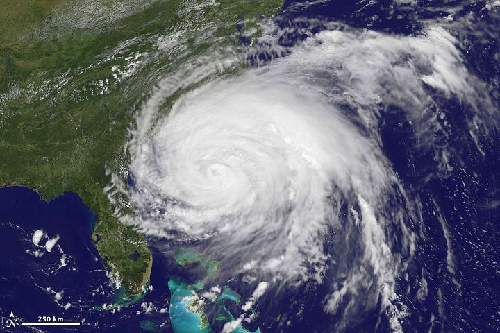 Hurricane Irene Nears Landfall
