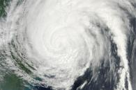 Hurricane Irene over the U.S. East Coast