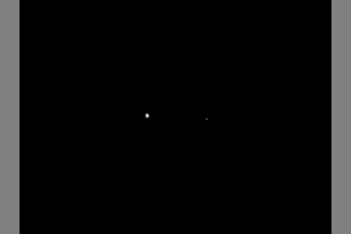 The Six Million-Mile View of Earth and Moon