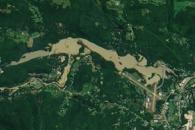 Flooding Fills Vermont Reservoir