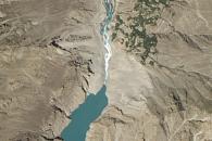Hunza Valley Landslide Lake