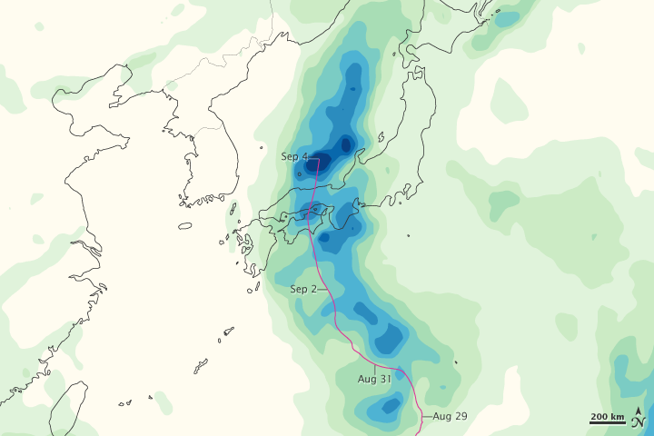 Tropical Storm Talas - related image preview