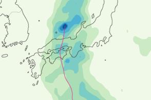 Tropical Storm Talas - selected image
