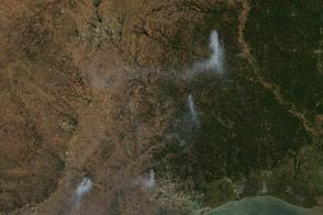 Texas Wildfires