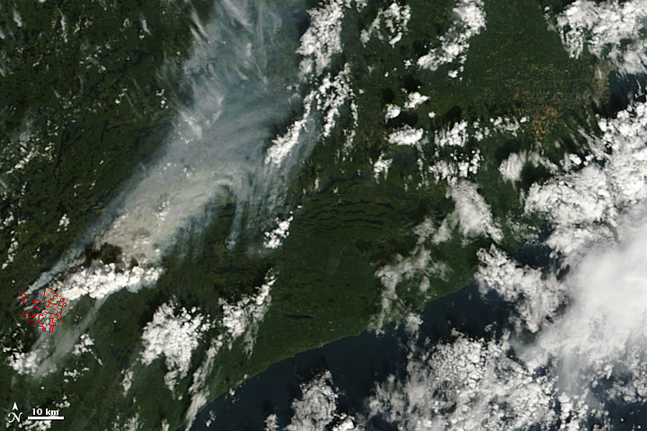 Pagami Creek Fire in Minnesota