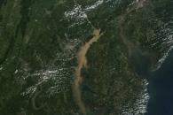 Sediment Clouds the Chesapeake Bay