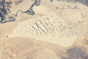 Sand Dunes, Junggar Basin, Northwestern China