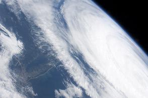 Hurricane Katia off the Northeastern US Coastline