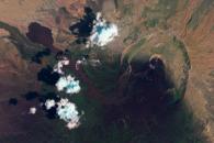 Ash and Lava Flows at Nabro Volcano