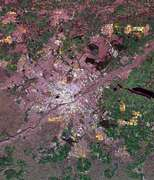 Space Radar Image of Munich, Germany - selected image