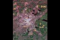 Space Radar Image of Munich, Germany