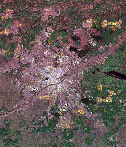 Space Radar Image of Munich, Germany - related image preview