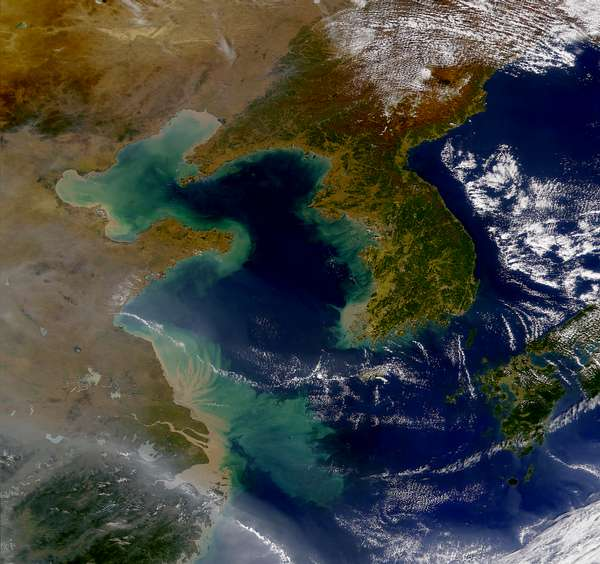 Korea and the Yellow Sea - related image preview