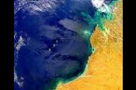 Complex Sunglint Over NW Australia