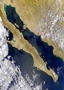 Sunglint on Gulf of California - selected image