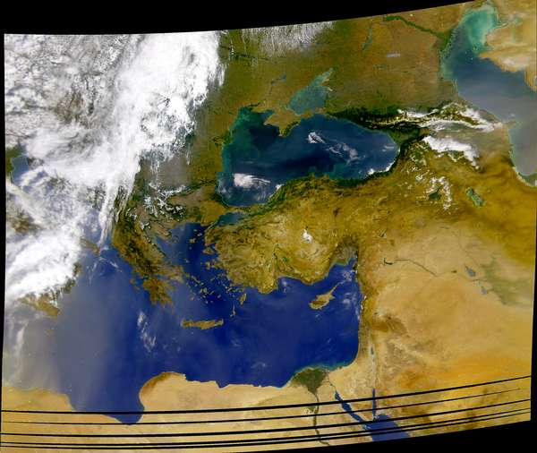 Black Sea and Eastern Mediterranean - related image preview