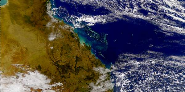 Southern End of Great Barrier Reef - related image preview
