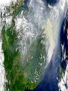 Russian Smoke Over Seas of Okhotsk and Japan - selected image