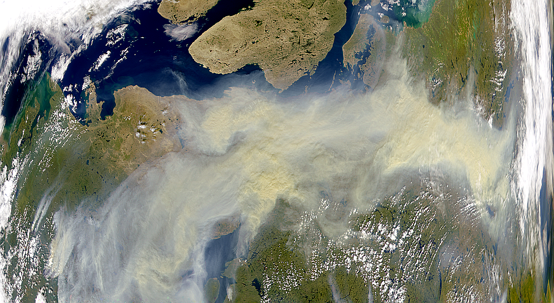 Smoke Over Northern Nunavut - related image preview